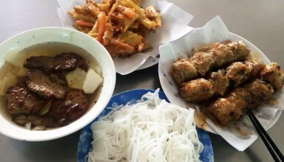 quán ăn trưa gần sân bay