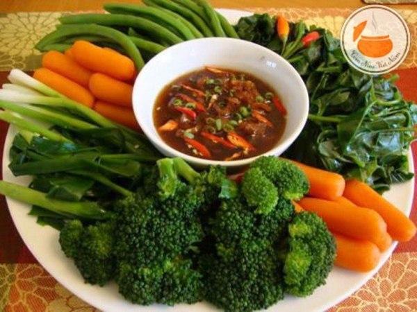 ăn trưa cho người giảm cân
