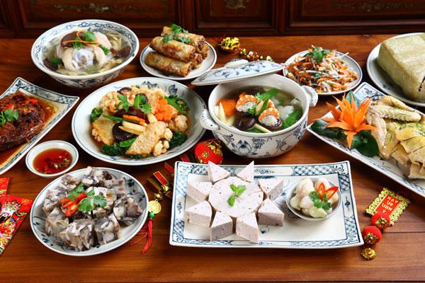 Review nhà hàng có bán những món ăn ngày tết của miền Bắc
