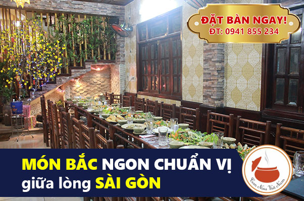 Quán ăn gia đình ngon sang trọng tại Sài Gòn